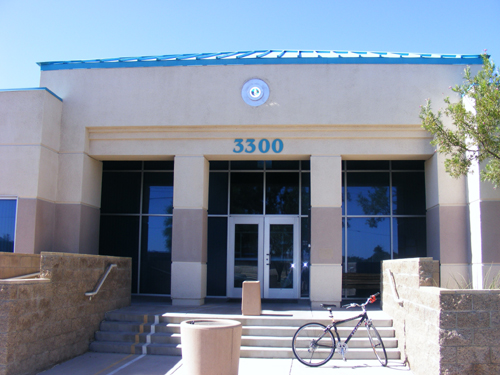 City of Las Vegas Jail - Front Entrance