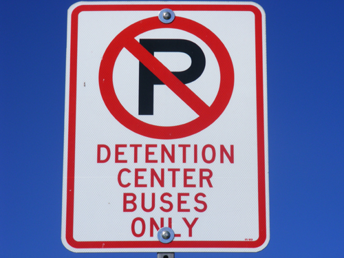Clark County Detention Center Buses Only