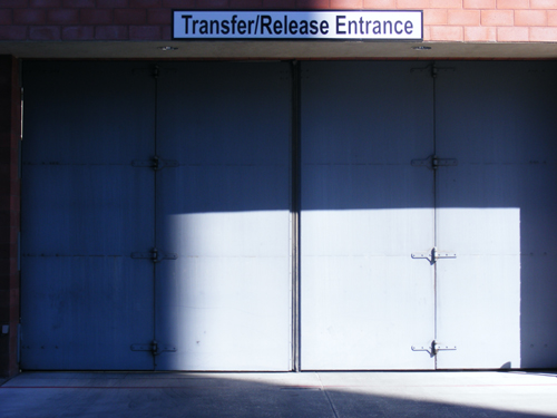 Transfer Release Entrance Clark County Detention Center